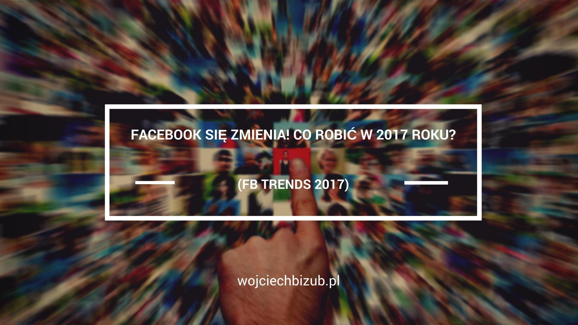 facebook zmiany