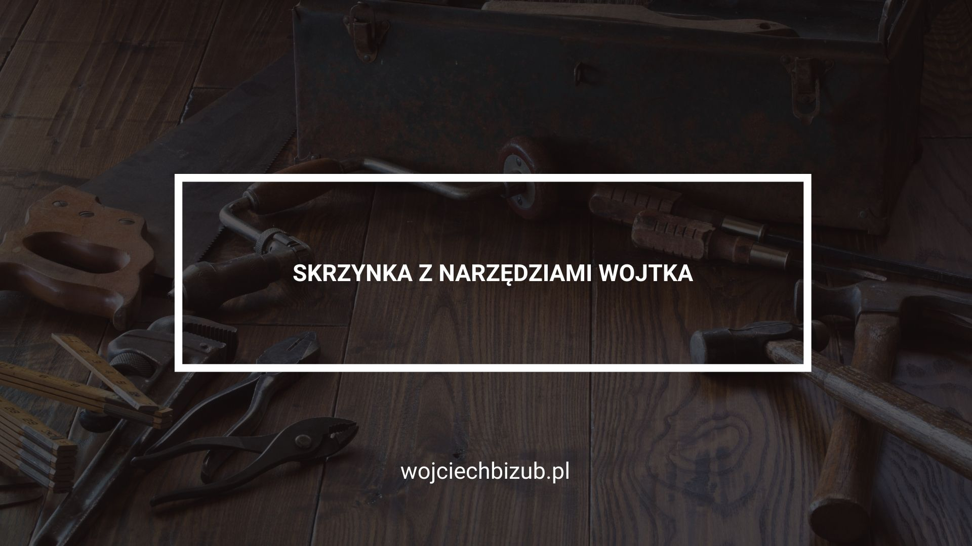 Skrzynka z narzędziami Wojtka